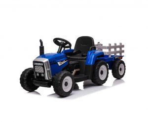 Blue Tractor Mercedes