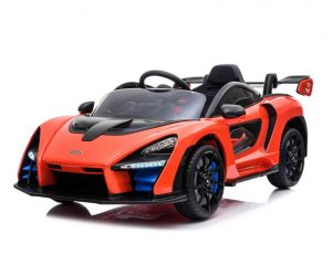 McLaren Senna Ride On Car Orange