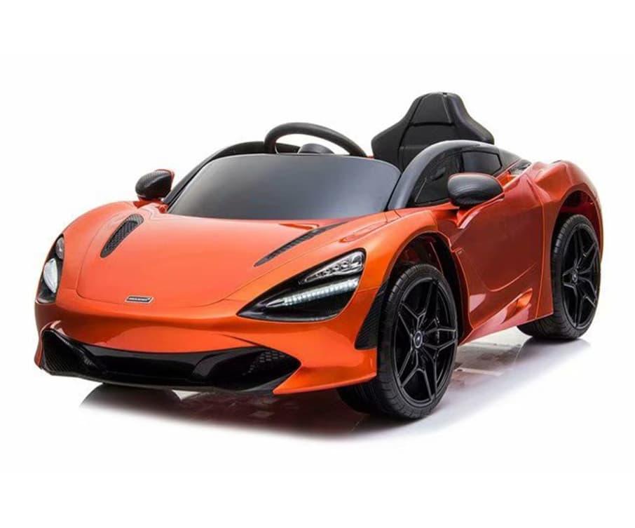 12v Licensed Mclaren 720s Ride On Car Orange Kids Electric Cars