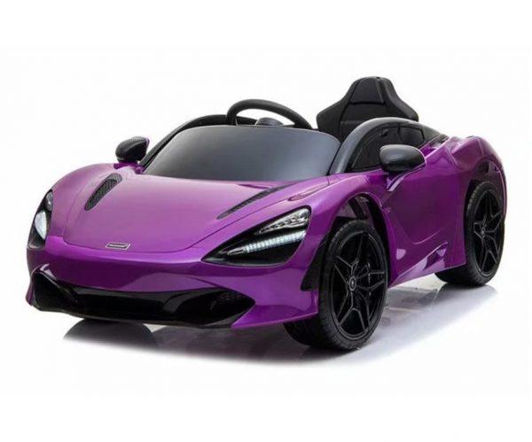 Mclaren Ride On Car Purple