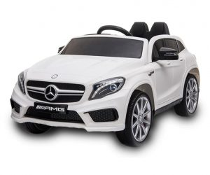White GLA Mercedes