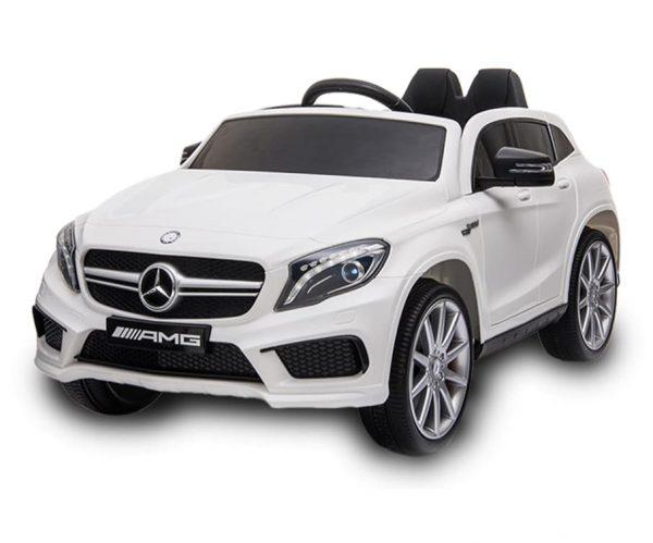 White GLA Mercedes