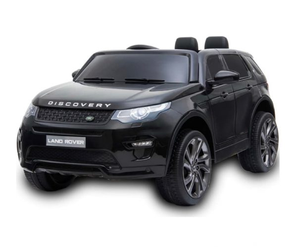 Black Landrover Discovery