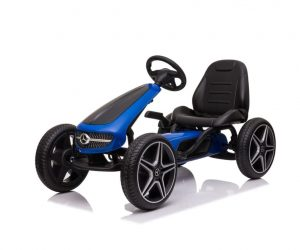 Mercedes Blue Black Kart