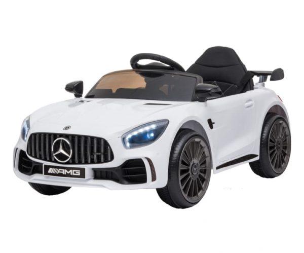 White Mercedes GTR Ride On