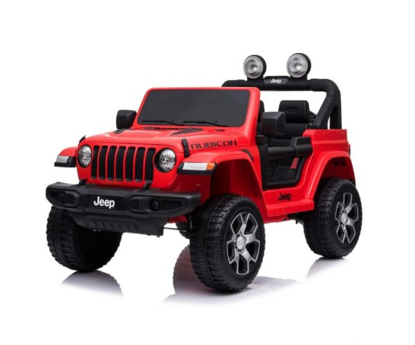 12V Rubicon Jeep Red